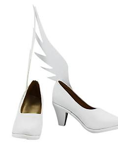 Cosplay Shoes Inspired by Puella Magi Madoka Magica Madoka Kaname GK Ver.