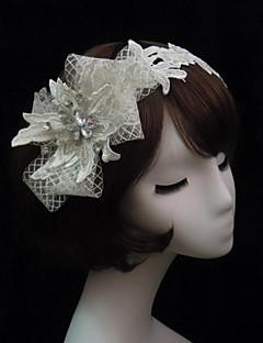 Women's Lace Rhinestone Net Headpiece-Special Occasion Headbands