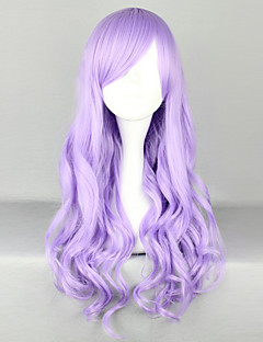 Lolita Wigs Sweet Lolita Lolita Long Light Purple Lolita Wig 70 CM Cosplay Wigs Solid Wig For Women