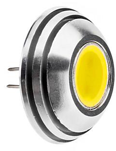 G4 1.5W 125-140LM 6000-6500K Naturlig White Light Afrundet LED Spot Pære (12V)