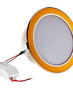 Dimmable 12W 1080LM 3000-3500K Warm White Light Golden Shell LED Ceiling Bulb (220V)