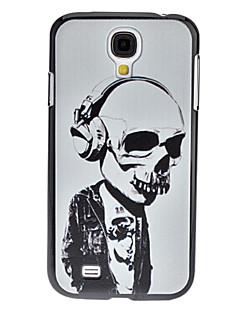 Skeleton Musiker mønster hårdt tilfældet for Samsung Galaxy S4 I9500