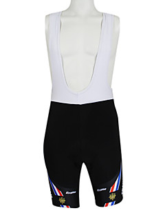 Kooplus Cycling Bib Shorts Women's Men's Unisex Bike Quick Dry Windproof Waterproof Zipper Front Zipper Dust Proof WearableBib Shorts