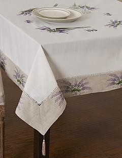 Classique Violet coton polyester Nappes Floral