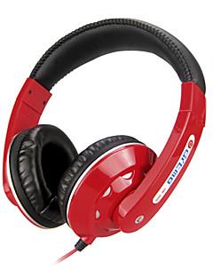 Stereo Musik 3.5mm On-Ear-Kopfhörer DM-3000 (Schwarz, Rot, Weiß, Blau)