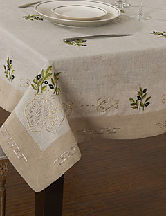 Pays lin beige Nappes Floral