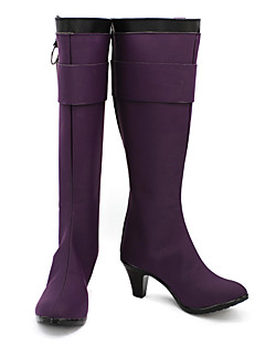 Dangan Ronpa Kyouko Kirigiri Paars Cosplay Boots