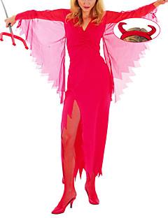 Crazy Demon Absolute Red Dress Women's Halloween Costume