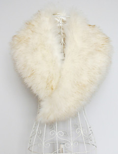 Nice Faux Fur Collar Evening/Casual Wraps (More Colors)