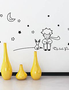 Cartoon Little Prince Wall Stickers