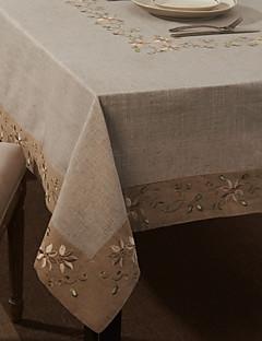 """59 """"X104"""" Linge de style moderne et tissu de coton de table floral"""