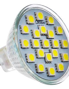 Spot Blanc Froid 2 W 21 SMD 5050 200-220 LM 6000 K AC 100-240 V