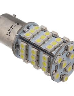 2Pcs 1156 BA15S 3.25W 216LM 54x3528SMD 6000K Cool White Light LED Car Bulb (12V)