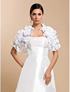 Short Sleeve Chiffon Evening/Casual Wrap/Evening Jacket (More Colors) Bolero Shrug