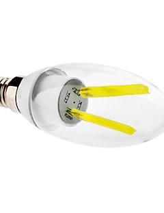 LED Filament Lamps , E14 2 W LM Cool White V