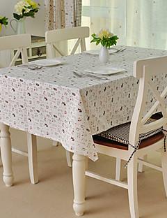 linge de table, coton / lin mélange, modèle animal