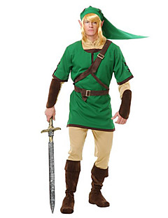 Elf Warrior Green Men's Costume
