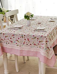 linge de table, coton / lin mélangés, motif de lapin