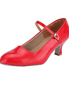 kunstleer bovenste dansschoenen balzaal moderne schoenen voor vrouwen meer kleuren