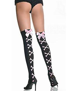 Sokken en kousen Festival/Feestdagen Halloween Kostuums Zwart / Roze Kousen Halloween / Carnaval Vrouwelijk Spandex / Nylon