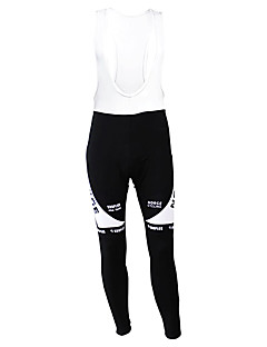 KOOPLUS® Cycling Pants Men's Bike Breathable / Thermal / Warm / Fleece Lining / Moisture Permeability / WearableTights /