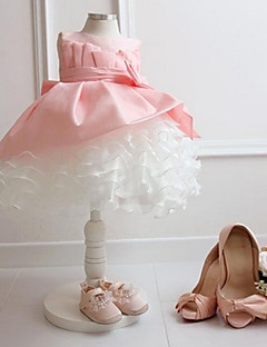 Formal Evening/Wedding Party/Vacation Dress - Blushing Pink Ball Gown Bateau Lace