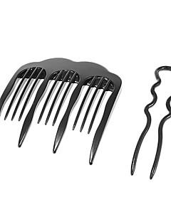 2 stuks Hair Twist Fork (klein formaat)