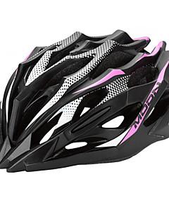 LUA Ciclismo Rosa + Preto PC / EPS 28 Vents MTB Helmet