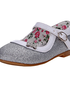 Sparkling Glitter Girl's Flat Heel Mary Jane Flats Shoes(More Colors)