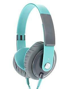 EP12 Moderigtigt 3,5 mm On-ear hovedtelefoner headset med mikrofon (Grøn)