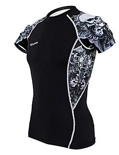 Kooplus Cyklodres Pánské Krátké rukávy Jezdit na kole Dres základní vrstvy Vrchní část oděvuRychleschnoucí Propustnost vůči vlhkosti