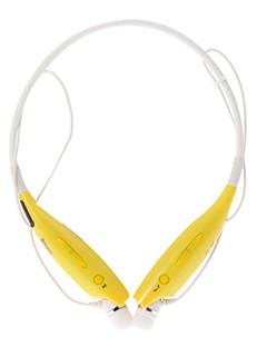 HBS700 Auricular Bluetooth Flexible con correa de cuello para el teléfono celular (Amarillo)