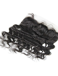 "20"" Brazilian Hair Silky Body Wave Lace Frontal(13""*4"") Natural Color"
