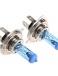 2 * H4 Xenon Halogen T10 HeadLight Bulb Kit 6000K 12V 100W for Motorcycle
