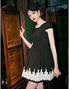 TS Spitze Dekor, Einfachheit, Skater-Kleid