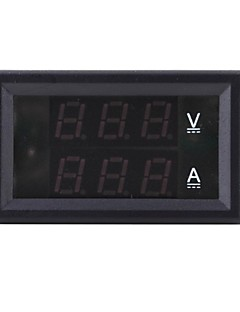 DC 4.5-30V 0-10A Dual LED Digital Volt Meter Ammeter Voltage AMP Power