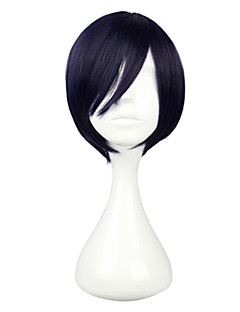 Cosplay Wigs Noragami Yato Purple Short Anime Cosplay Wigs 30 CM Female