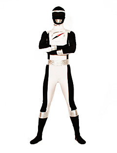 Power Ranger GoGo Sentai Boukenger Bouken Musta Zentai Cosplay Puku