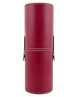 Aufbewahrung für Make-Up Kosmetik Tasche / Aufbewahrung für Make-Up einfarbig 23.2 cm x 7.9 cm x 7.10 cm Rot