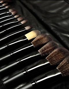 32pcs Børstesett Nylon Børste Syntetisk hår Ansikt Lepe Øye