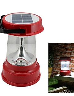 4-LED Solar Powered Camping Lantern Lumina de urgenta activties aer liber