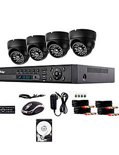 Liview® 700TVL Outdoor Day/Night Security Camera and 4CH HDMI 960H DVR System 1TB Hard Drive