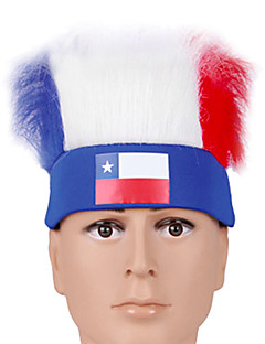 Headpiece Festival/Holiday Halloween Costumes Red / White / Blue Headband Halloween / Carnival Terylene / Polyester / Polyurethane Leather