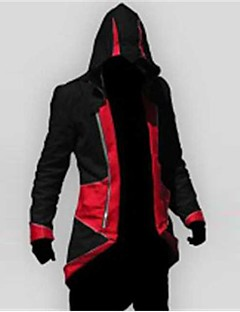 Video Game Assassinator Cosplay Kostüm Kapuzenpullover
