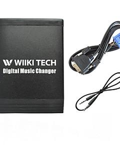 USB SD 3.5mm Aux In ja Bluetooth Valinnainen auto MP3-soitin sovitin 1998-2005 Honda Accord Civic CRV Insight Odyssey