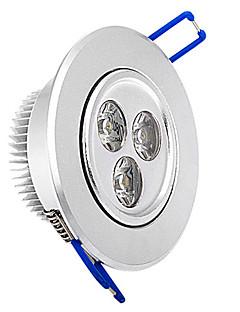 Plafonniers Blanc Chaud Encastrée Moderne 3 W 3 LED Haute Puissance 315 LM AC 100-240 V