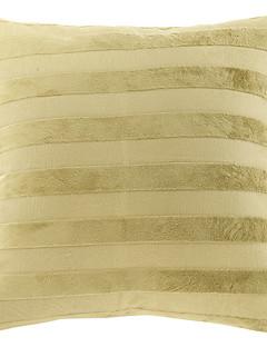 Élégant Stripes Polyester coussin décoratif couverture