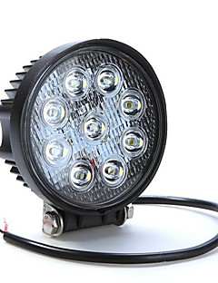 27W 9LED Work Light Tåke lys for Jeep SUV ATV Off-road Truck