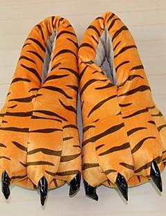 着ぐるみ パジャマ Tiger シューズ スリッパ イベント/ホリデー 動物パジャマ ハロウィーン オレンジ アニマルプリント スリッパ ために 男女兼用 ハロウィーン