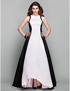 שמלת ערב תכשיט a-line/princess טפטה לא סימטרי בהשראת שטיינפלד Hailee